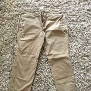 Old Navy Pixie classic NWOT khaki ankle pant 14